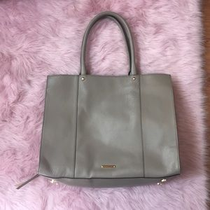 Grey Rebecca Minkoff Purse, like new!